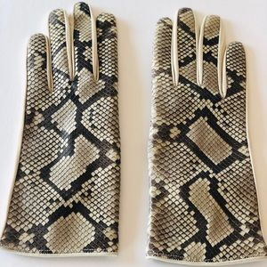 💥HP💥Python Napa leather gloves,  new